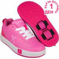 Sidewalk Sport Маратонки С Колелца Lane Girls Wheeled Skate Shoes Grey/Pink Детски маратонки