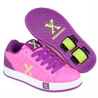 Sidewalk Sport Sport Lane Girls Wheeled Skate Shoes Pink Детски маратонки