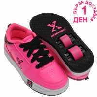 Sidewalk Sport Маратонки С Колелца Lane Girls Wheeled Skate Shoes Pink Маратонки с колелца