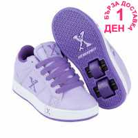 Sidewalk Sport Lane Girls Wheeled Skate Shoes Lilac/Purple Маратонки с колелца