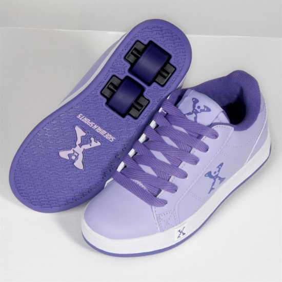 Sidewalk Sport Lane Girls Wheeled Skate Shoes Lilac/Purple Детски маратонки