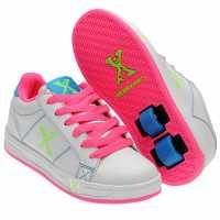Sidewalk Sport Sport Lane Girls Wheeled Skate Shoes White/Pink Детски маратонки