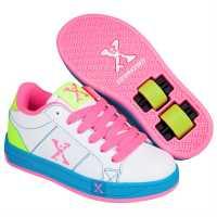 Sidewalk Sport Sport Lane Girls Wheeled Skate Shoes White/Pink/Blue Детски маратонки