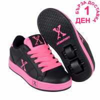 Sidewalk Sport Lane Girls Wheeled Skate Shoes Black/Pink Детски маратонки