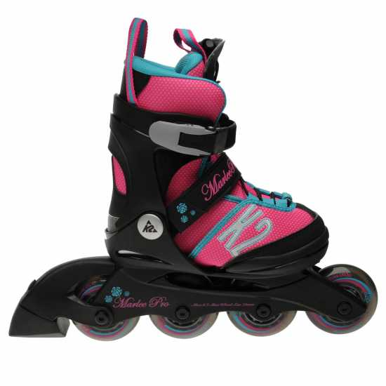 K2 Marlee Pro Grl71 Black/Pink/Blue Детски ролкови кънки