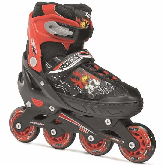 Roces Детски Ролери Compy 6.0 Roller Skates Junior Boy Black/Red Детски ролкови кънки