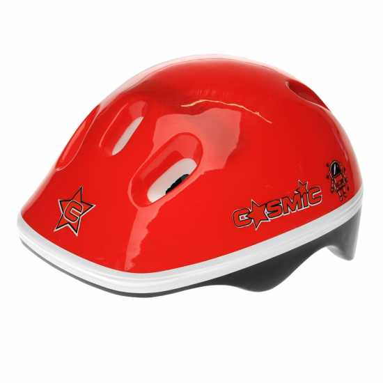 Cosmic Ролкови Кънки С Каска И Наколенки Skate And Protection Pack Junior Red/Black Детски ролкови кънки