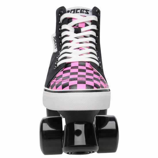 Roces Дамски Ролкови Кънки Ollie Quad Skates Ladies Black/Pink Дамски ролкови кънки