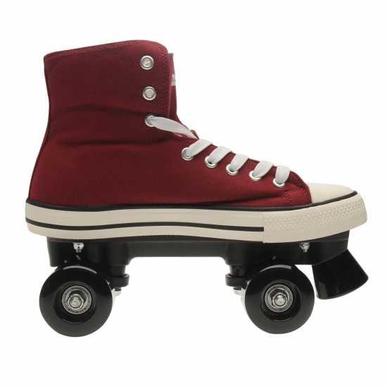 Roces Мъжки Ролкови Кънки Chuck Quad Skates Mens Bordeaux Мъжки ролкови кънки