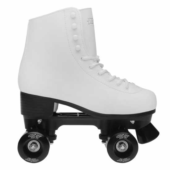 No Fear Дамски Ролкови Кънки Figure Skate Ld81 White Дамски ролкови кънки