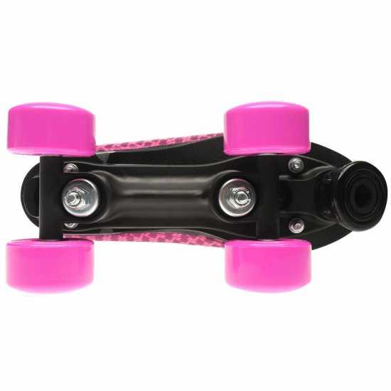Roces Дамски Ролкови Кънки Mania Quad Skates Ladies Pink Дамски ролкови кънки