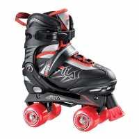 Fila Ролкови Кънки Joy Quad Skates Jn73 Black/Red Детски ролкови кънки
