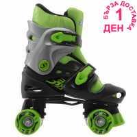 No Fear Детски Ролкови Кънки Quad Skates Junior