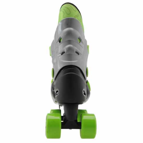 No Fear Детски Ролкови Кънки Quad Skates Junior Black/Green Детски ролкови кънки