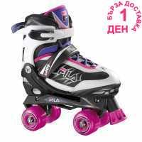 Fila Ролкови Кънки Joy Quad Skates Gl73 Black/Magenta Детски ролкови кънки