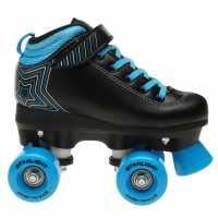 Rookie Starlight Child Boys Roller Skates Black/Blue Детски ролкови кънки