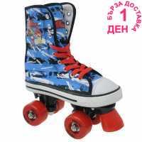 No Fear Платнени Детски Кънки Canvas Childrens Quad Skates
