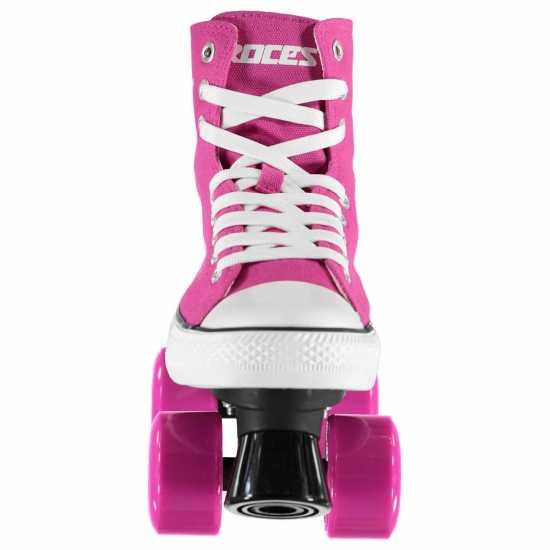 Roces Детски Ролкови Кънки Chuck Quad  Skates Child Girls Pink Детски ролкови кънки