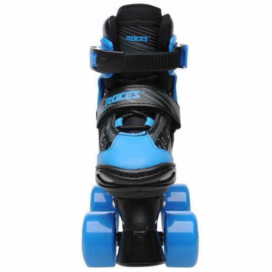 Roces Quaddy Quadskt Jn91 Black/Blue Детски ролкови кънки