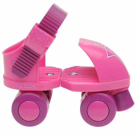 Cosmic Детски Ролкови Кънки Quad Skates Child Girls Pink Детски ролкови кънки