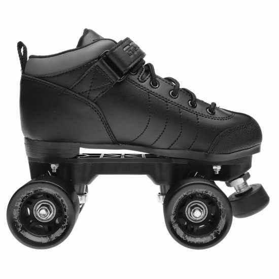 Rookie Детски Кънки Raw Junior Quad Skates Black Детски ролкови кънки