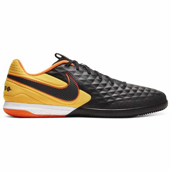 Nike React Tiempo Legend 8 Pro Ic Indoor/court Soccer Shoe BLACK/BLACK-LASER ORANGE Мъжки футболни бутонки