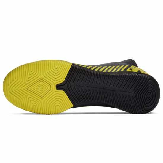 Nike Мъжки Футболни Маратонки Mercurial Superfly Academy Df Mens Indoor Football Trainers DkGrey/Yellow Мъжки футболни бутонки