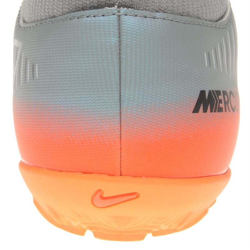 bff3aa74b326 Nike Mercurial Victory Cr7 Df Astro Turf Trainers Mens Grey Met Grey  Футболни стоножки
