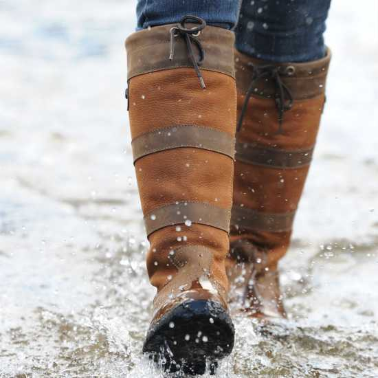 a8f72141c7f Dublin Непромокаеми Ботуши River Boots Dark Brown Мъжки боти и ботуши