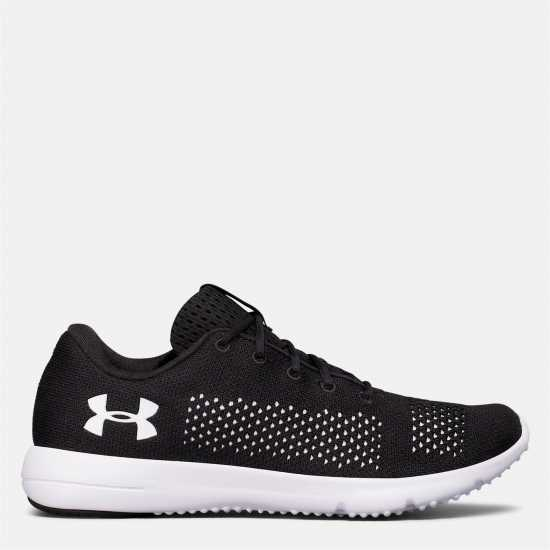 Under Armour Дамски Обувки За Бягане Rapid Running Shoes Ladies Black/White Дамски маратонки