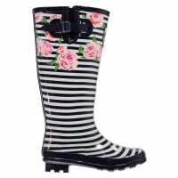 Requisite Print Wellingtons Floral Print Дамски гумени ботуши