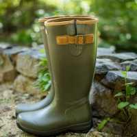 Ariat Burford Wellington Boots Olive Дамски гумени ботуши