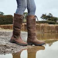Dublin Непромокаеми Ботуши River Boots Iii Chocolate Дамски ботуши