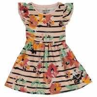 Soulcal Рокля За Момиченца Dress Infant Girls Rust Floral Детски поли и рокли
