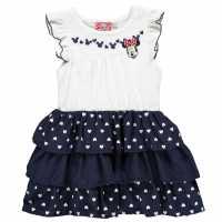 Character Рокля За Момиченца Play Dress Infant Girls Minnie Mouse Детски поли и рокли