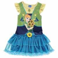 Character Рокля За Момиченца Play Dress Infant Girls Frozen Anna Детски поли и рокли