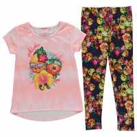 Character 2 Piece Jersey Set Infant Girls Shopkins Детски тениски и фланелки