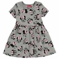 Character Рокля Жарсе Jersey Dress Infants Minnie Mouse Детски поли и рокли