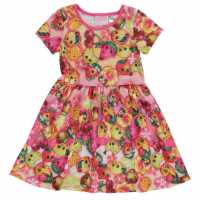 Character Рокля Жарсе Jersey Dress Infants Shopkins Детски поли и рокли