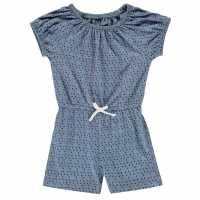 Crafted Екип Невръстни Момиченца Jersey Playsuit Infant Girls Mint Marl Детски къси панталони