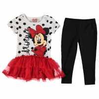 Kids Skirts And Dresses Disney Frill Dress Set Infant Girls Minnie Детски поли и рокли