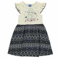 Character Рокля За Момиченца Jersey Dress Infant Girls Frozen Детски поли и рокли
