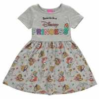 Character Рокля За Момиченца Jersey Dress Infant Girls Disney Princess Детски поли и рокли