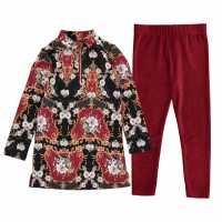 Firetrap 2 Piece Aop Dress Set Infant Girls  Детски поли и рокли