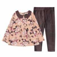 Firetrap Pack Aop Dress Lotus Floral Детски поли и рокли