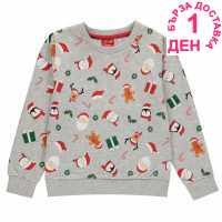 Star Crew Sweater  Коледни пуловери