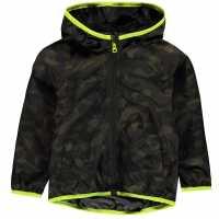 Crafted Essentials Яке Малки Момчета Rain Jacket Infant Boys Camouflage Детски якета и палта