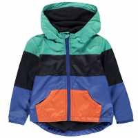 Crafted Essentials Яке Малки Момчета Panel Rain Jacket Infant Boys Multi Panel Детски якета и палта