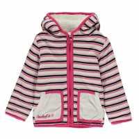 Soulcal Бебешки Суитчър С Качулка Fleece Lined Zip Hoody Baby Girls  Бебешки дрехи
