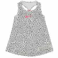 Nike Рокля За Момиченца Dri Fit Toss Dress Infant Girls White Детски поли и рокли